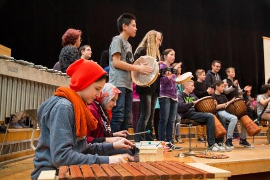 Verklärte Nacht - Mozarteumorchester + NMS Nonntal, c Erika Mayer